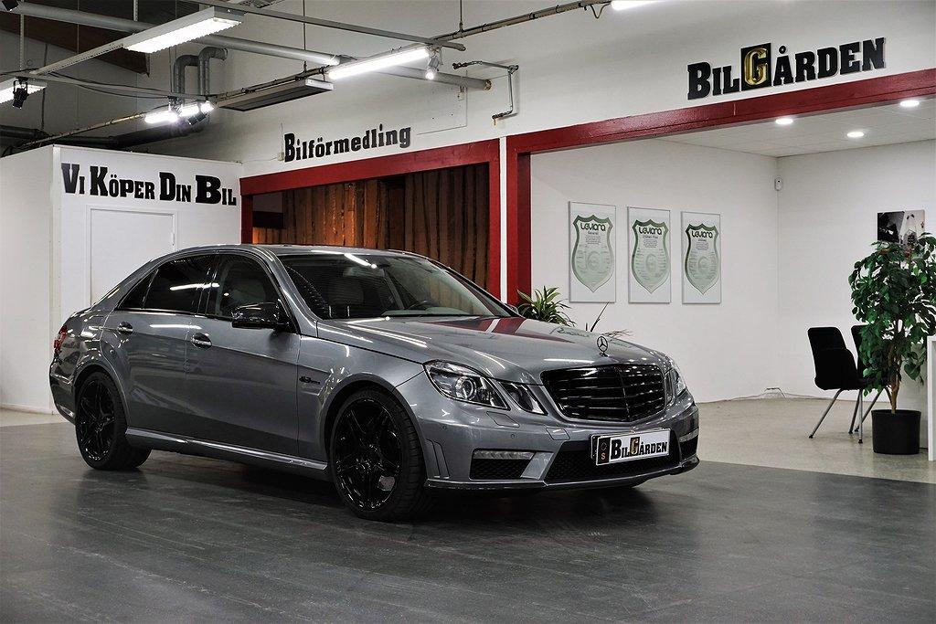 Mercedes-Benz E 63 AMG Speedshift 525hk Sv-Såld