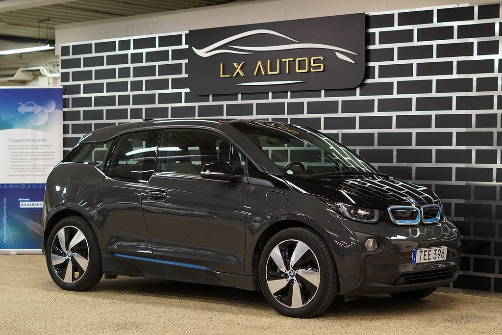 BMW i3 REX / Navi Pro / Connected Drive / 1 ÄGARE