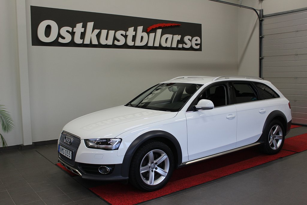 Audi A4, Allroad quattro 2.0 TDI Dragkrok