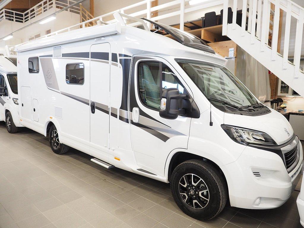 Knaus Van Ti Platinum Selection 650 MEG (mediapkt, golvvärme) 2019