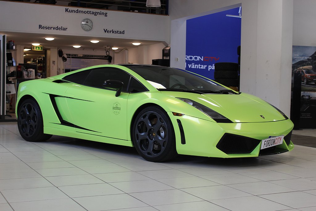 Lamborghini Gallardo  5.0 V10 AWD  500hk liftsystem Nyservad