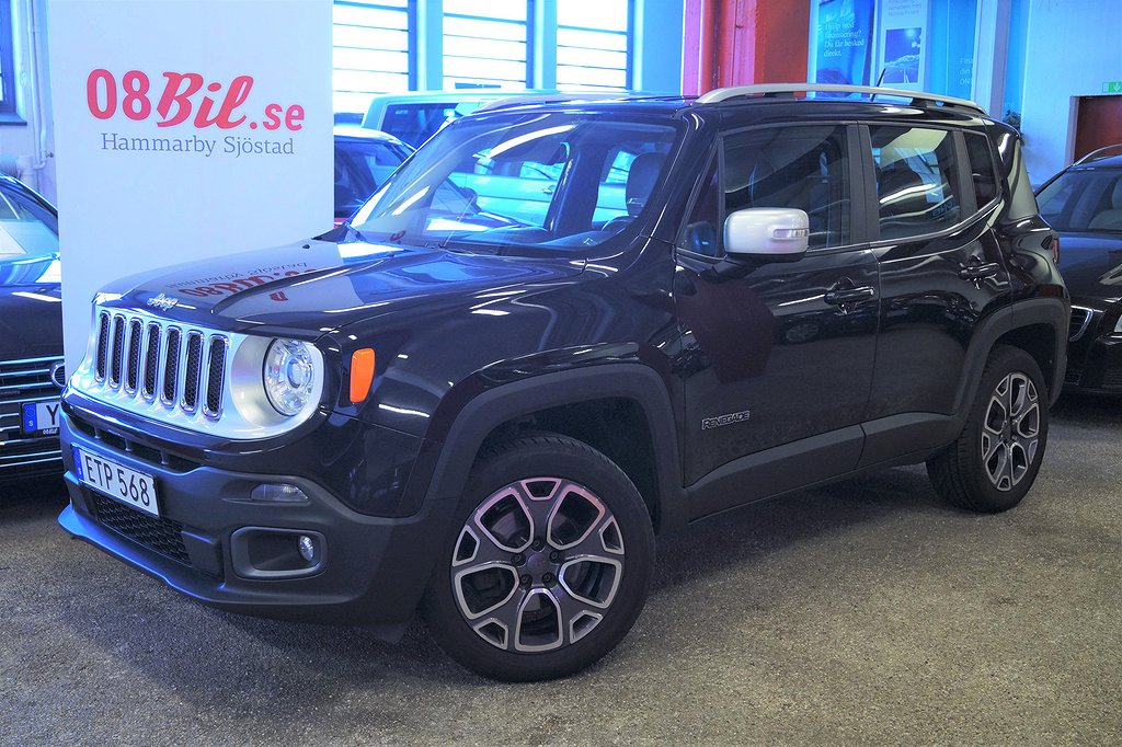 Jeep Renegade 2.0 CRD 4WD Automat Limited Euro 6 Skinn