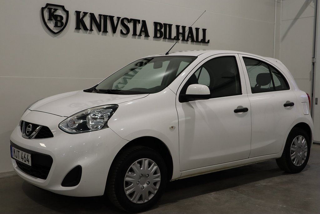 Nissan Micra 1.2 Pure Drive Nyservad 80hk