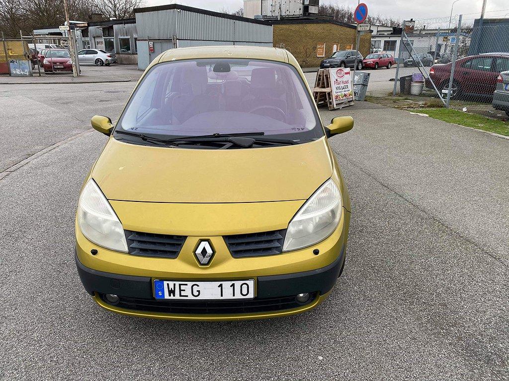 Renault Scénic 2.0/Automat/135HK/14000MIL/DRAG