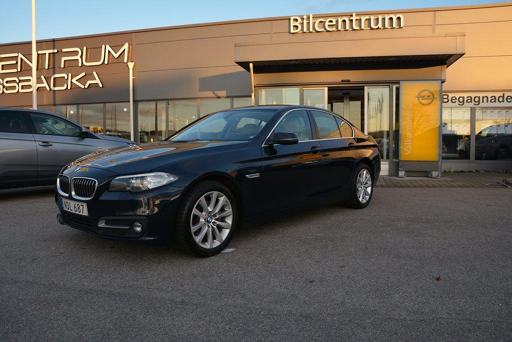 BMW 520 D 190hk Euro 6, Läder, Drag, Sportstolar, PDC
