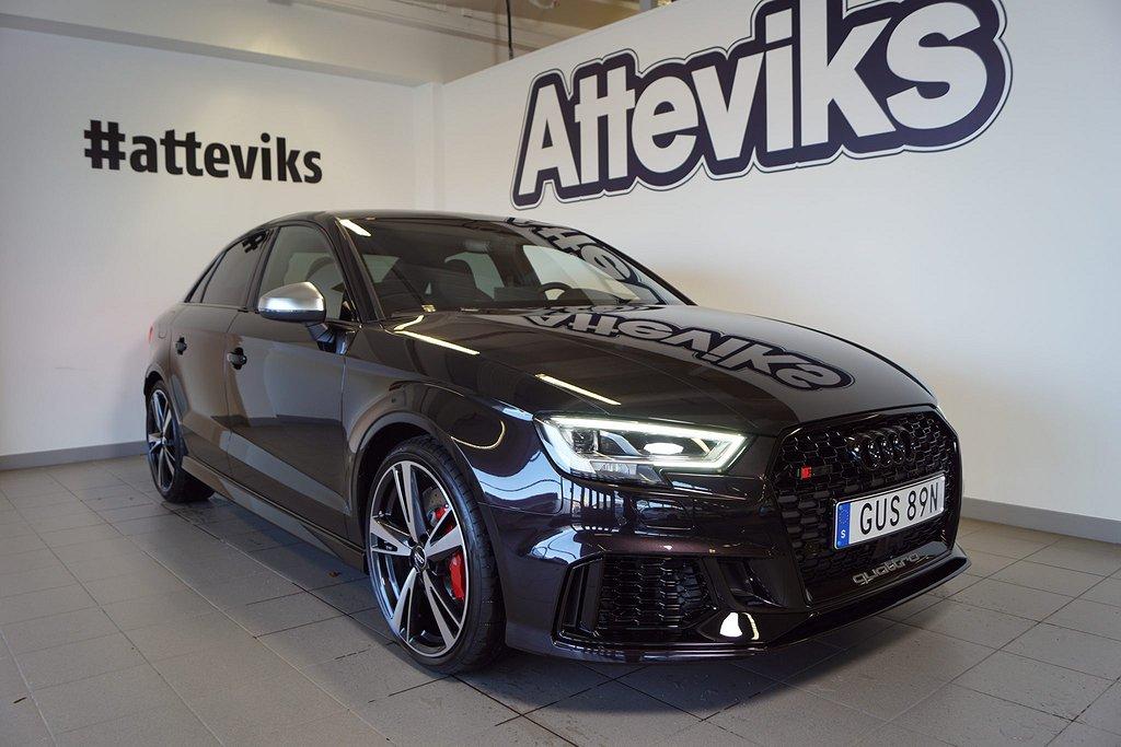 Audi RS3 Quattro Sedan 400 hk *Bil i lager*