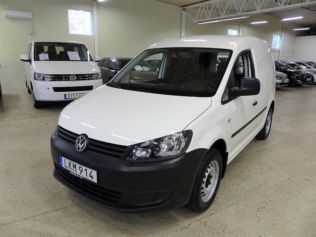 Volkswagen Caddy Skåp TDI 102 hk Komfortpaket Värmare Drag