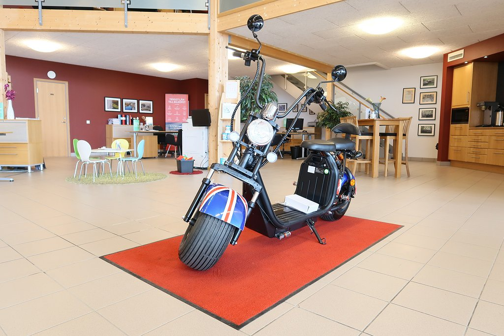 PUVITER Citycoco Scooter Fatboy (238kr/mån)