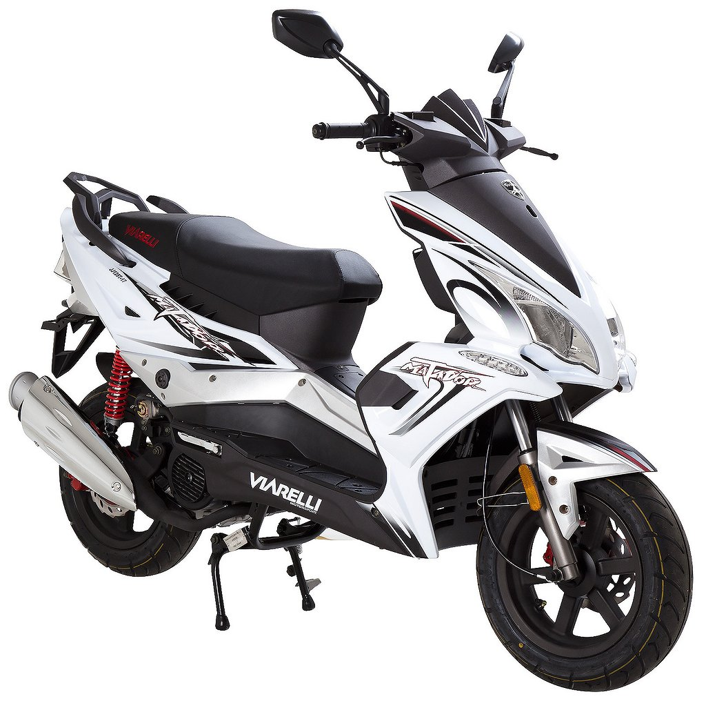 Viarelli Matador 4-Takt Vit 45km/h (klass 1 moped)