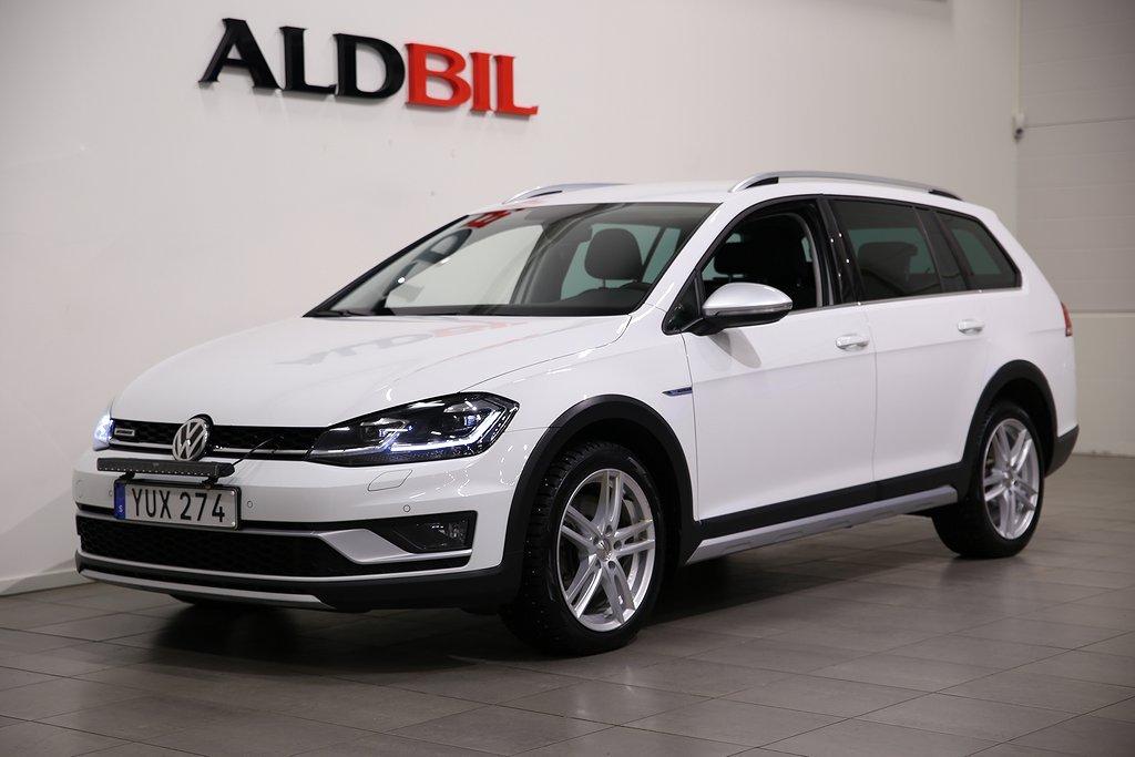 Volkswagen Golf Alltrack TDI 184hk 4M / Dragpaket / Pluspaket