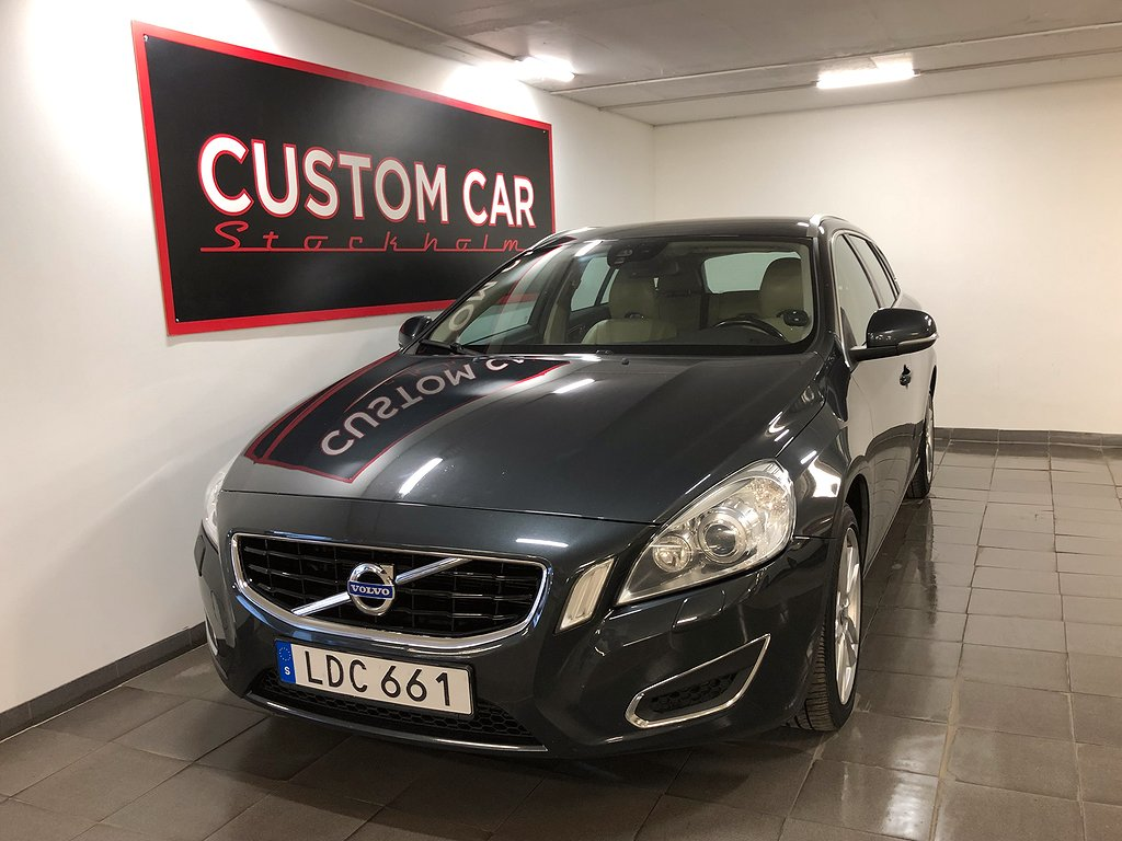 Volvo V60 D5 Geartronic Summum 205hk