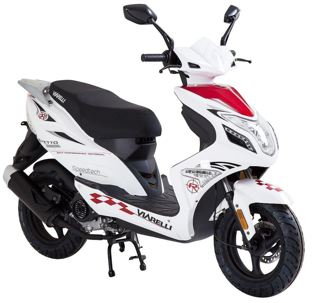 Viarelli Rivetto vit 25km/h (klass 2 moped)