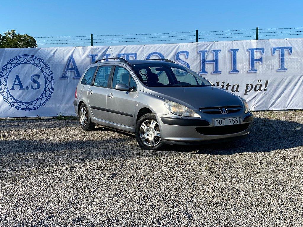 Peugeot 307 Break 1.6 Automat XT 109hk Ny Besiktigad Drag