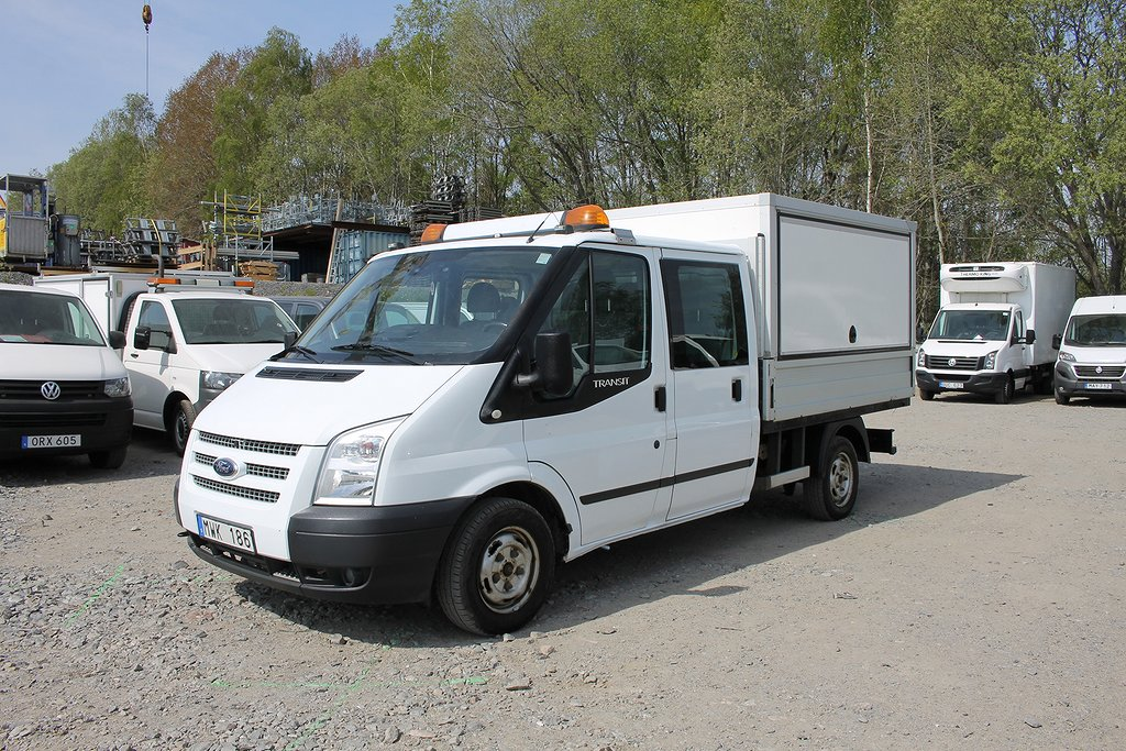 Ford Transit 2.2 TDCi Double Cab D-värmare*