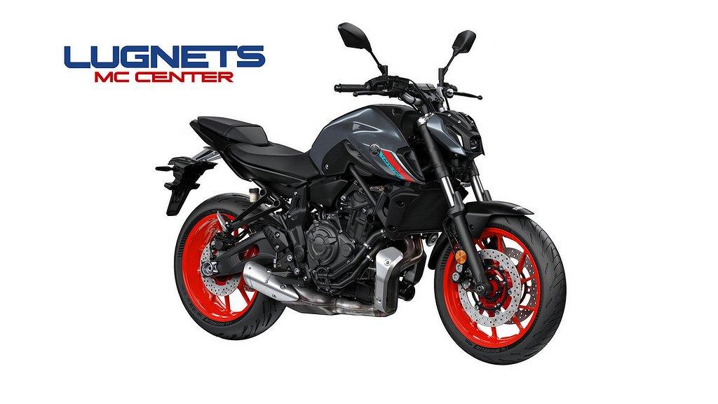 """Yamaha MT-07 """"NYHET"""" Boka nu leverans tidigt 2021"""