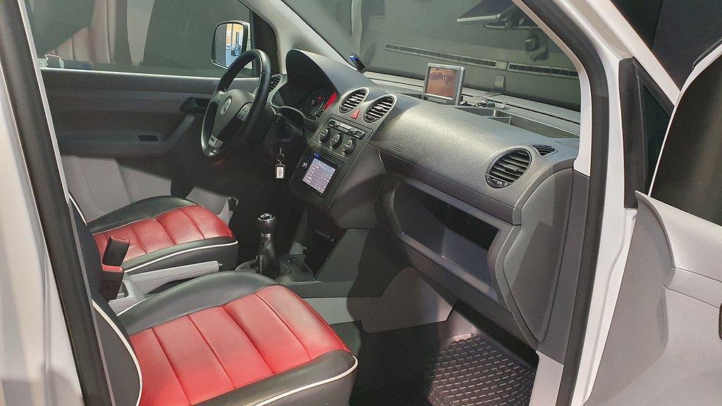 Volkswagen Caddy Carrera Cup 2.0 TDI 140hk