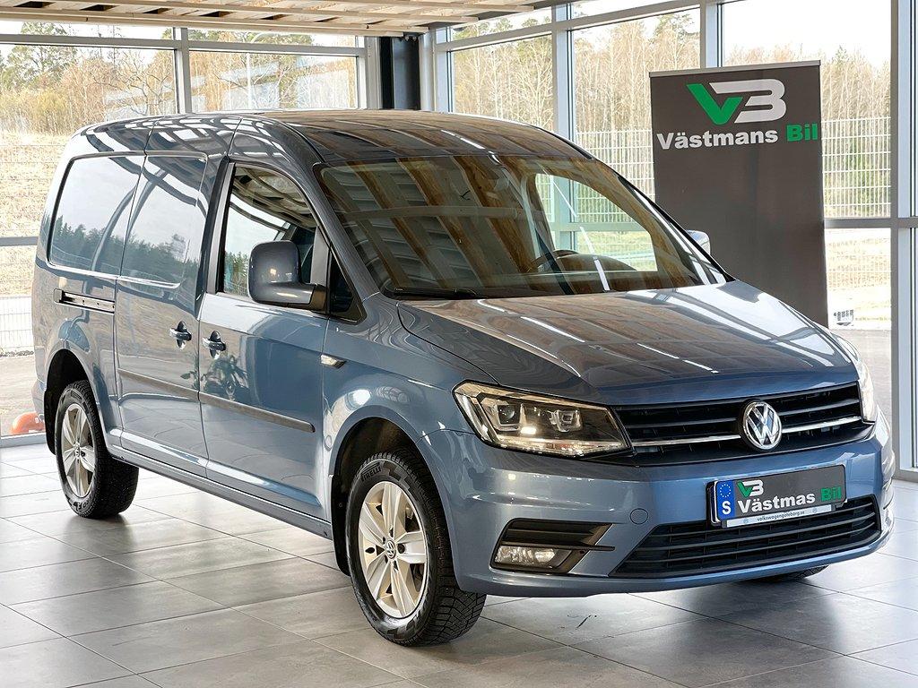 Volkswagen Caddy Maxi 2.0TDI 140hk/4Motion/DSG/D-värmare