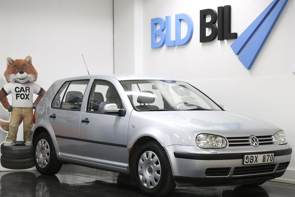Volkswagen Golf 1.6 5- NYSERVAD NYBES 105HK