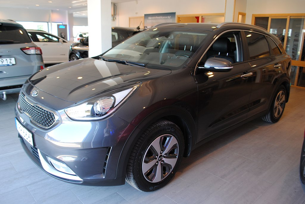 Kia Niro Hybrid 1.6 GDi Aut Pluspkt 2 141hk *Drag*