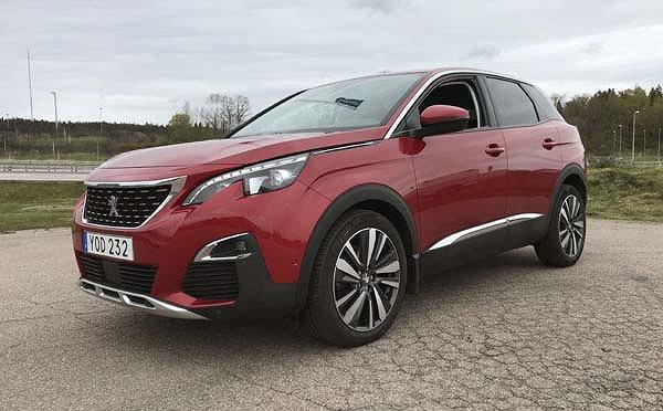 Peugeot 3008 ALLURE 1,6 HDi, full LED, Skattefri, Backkamera