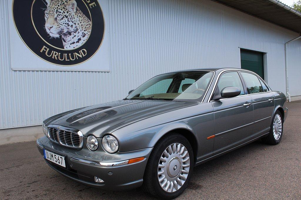 Jaguar XJ SUPER V8, lågmil, få ägare!