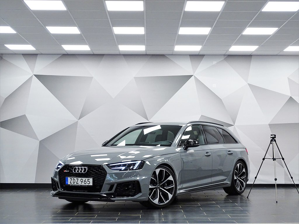 Audi RS4 TFSI 450hk Exclusive Design Sport