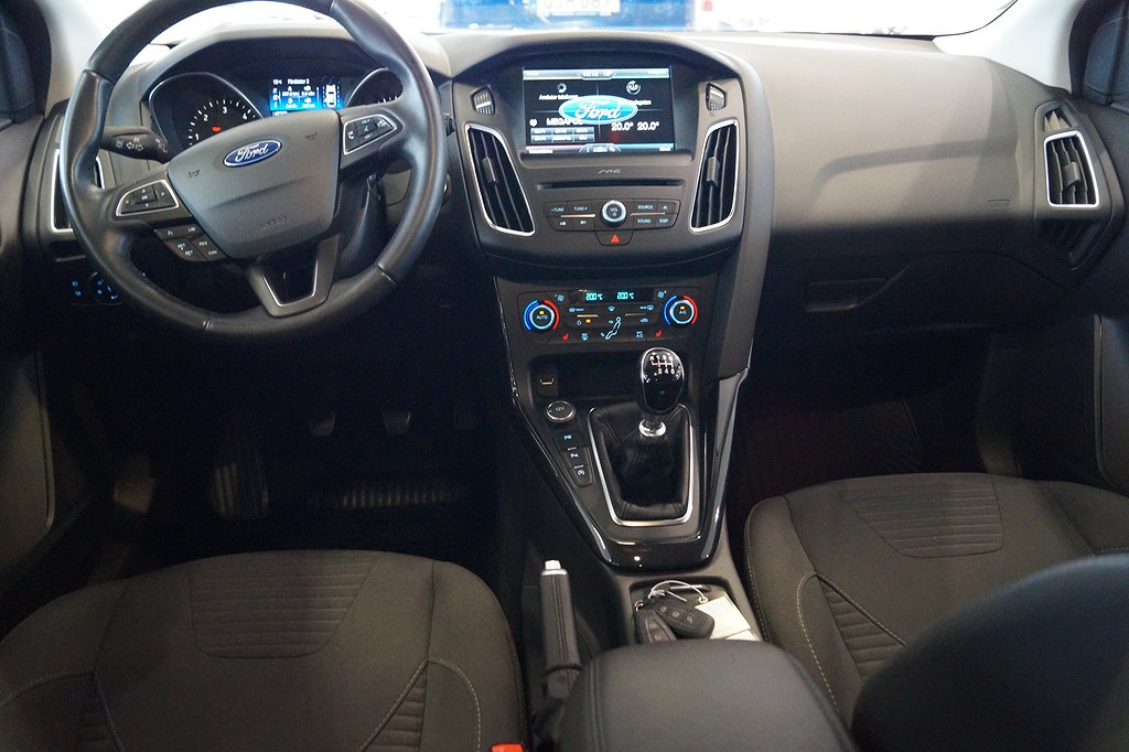 Ford Focus 2.0 Tdci 150hk Titanium 5D/ Nav/Drag