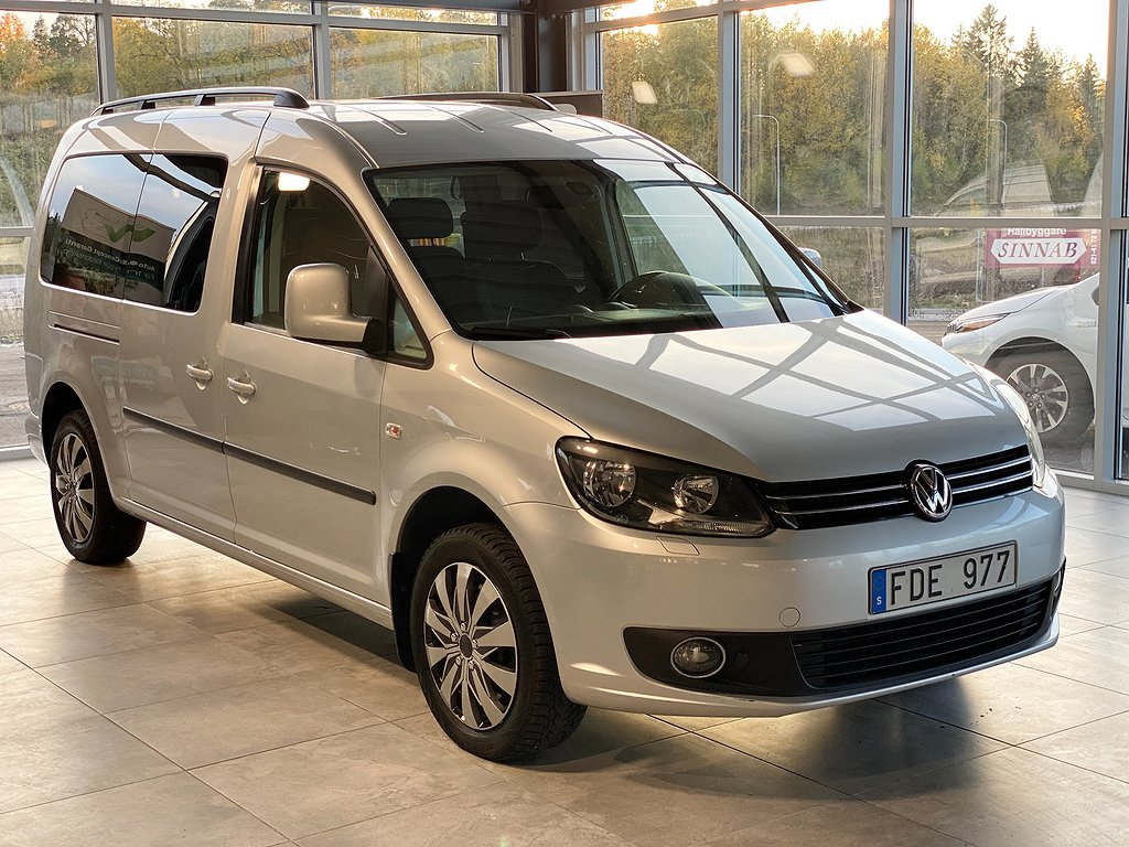 Volkswagen Caddy Maxi Life 1.6 TDI 7-sits/Automat
