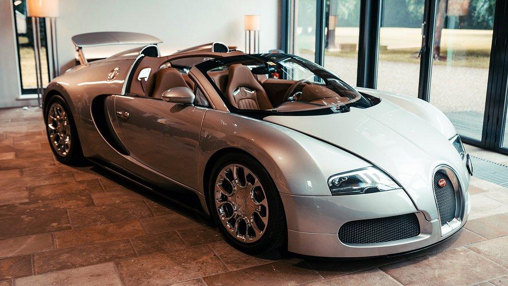 Prototypen till Bugatti Veyron Gran Sport framifrån