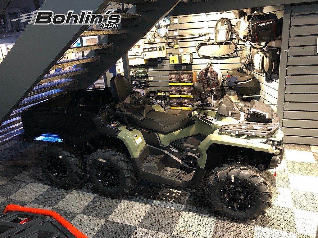 Can-Am Outlander 650 PRO MAX 6X6 -20