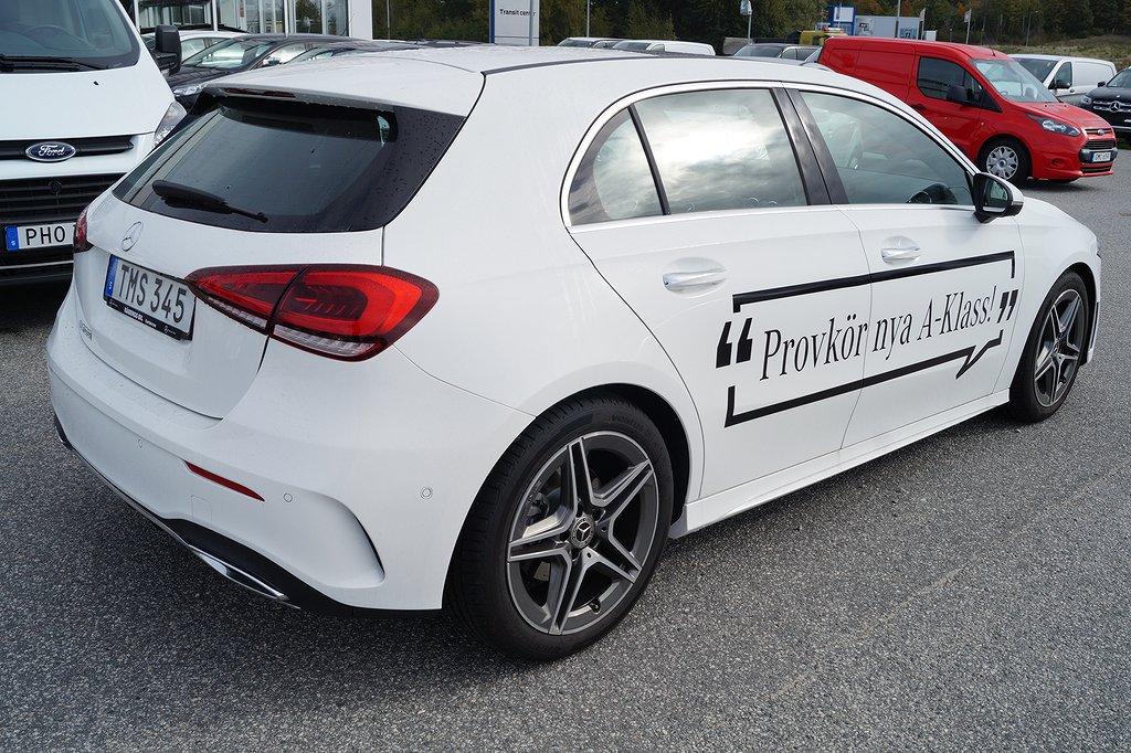 Mercedes-Benz A 200 Nya modellen / DEMO