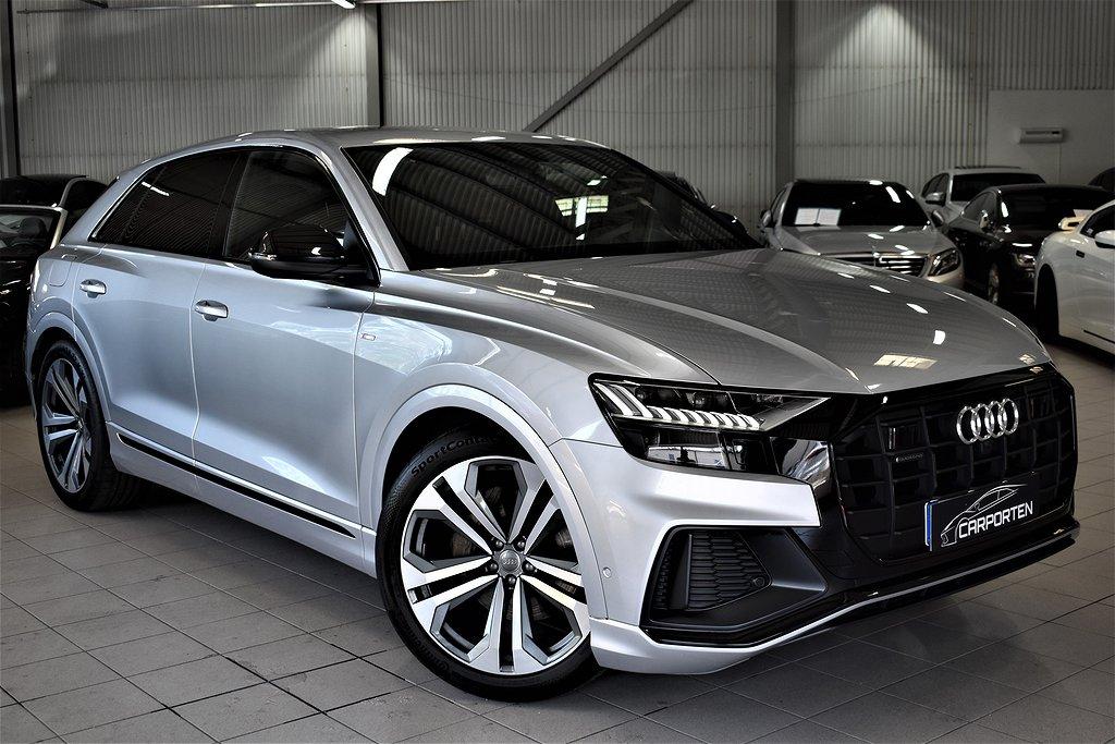 Audi Q8 50TDI S-LINE SVENSK MOMS 286HK