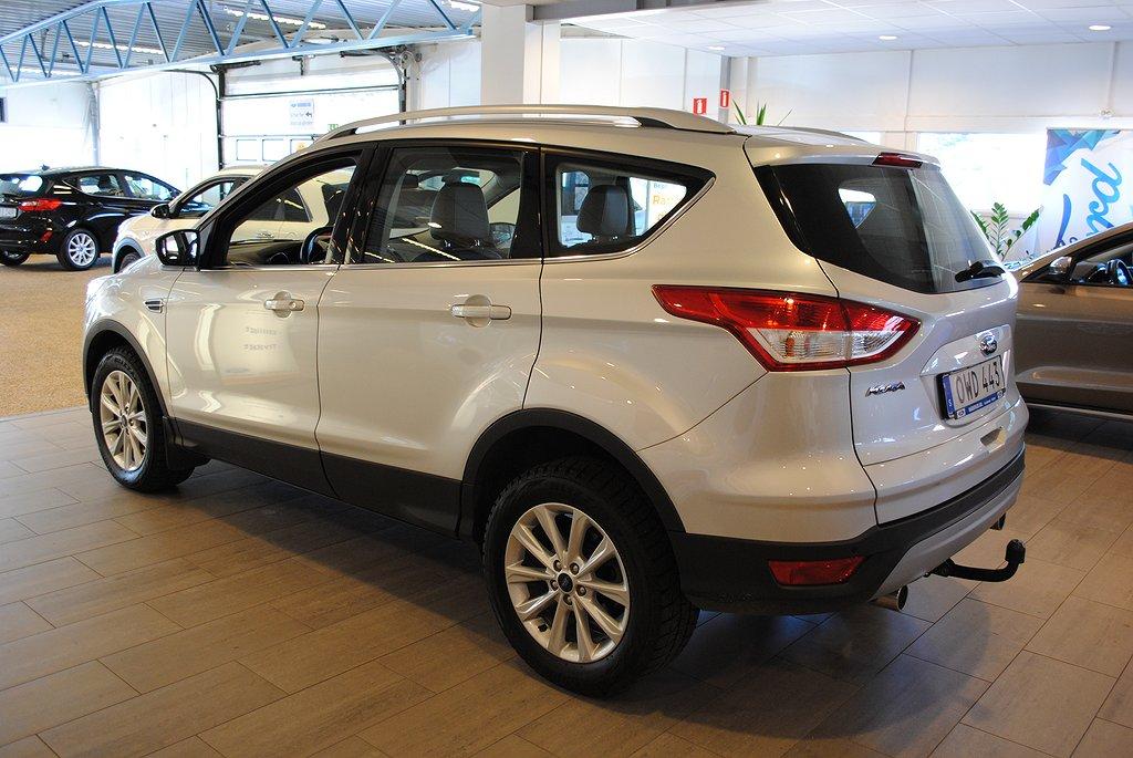 Ford Kuga 2.0 TDCi 150hk Titanium Aut*2100kg dragvikt *