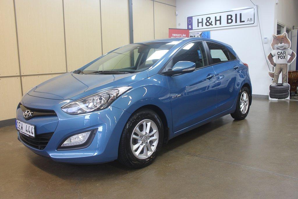 Hyundai i30 5-dörrar 1.6 CRDi 110hk Lågskatt