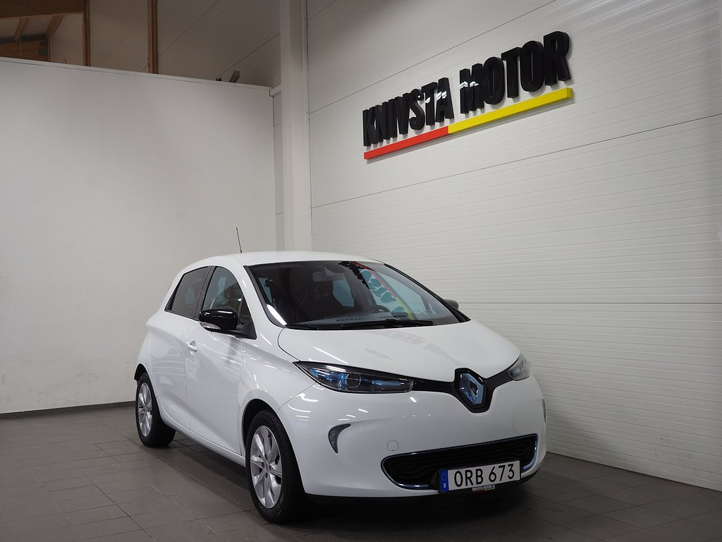 Renault Zoe 22 kWh Låga mil (Backkamera, GPS) 2014