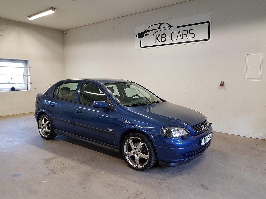 Opel Astra 5-dörrar 1.6 101hk *Nybes