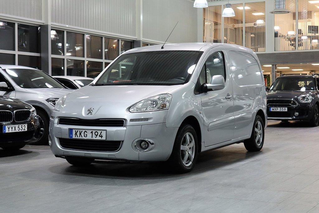 Peugeot Partner L1H1 1,6e-HDi 92Hk Automat PRO-pack 3-sits