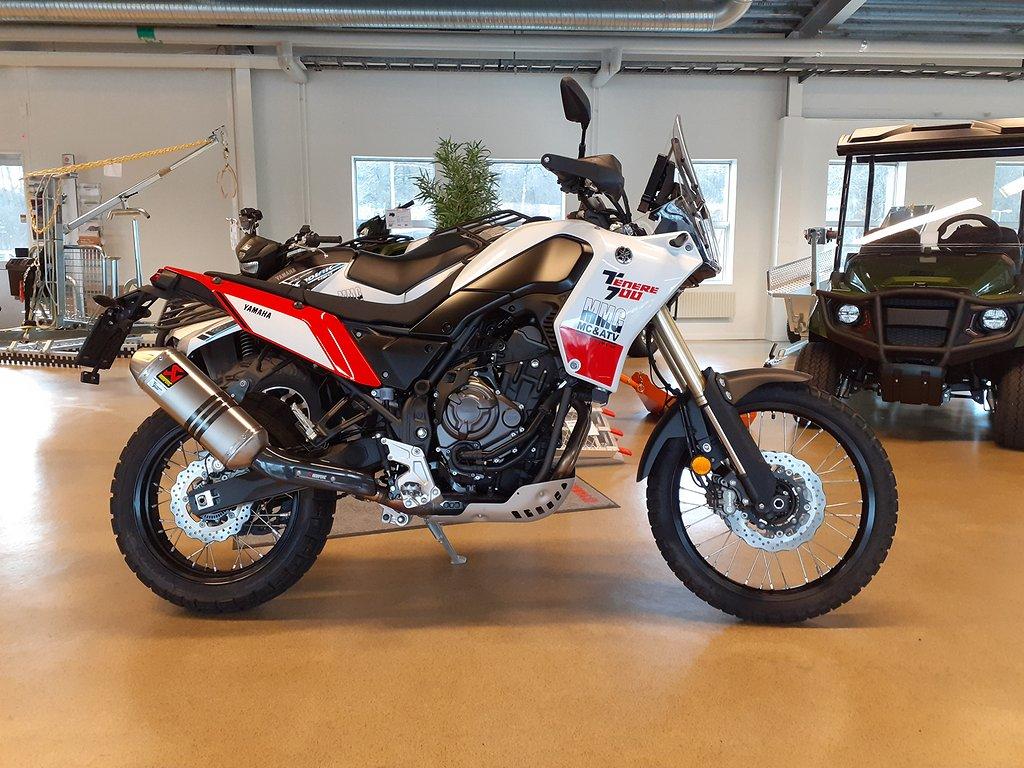 Yamaha Ténéré 700 Leverans omgående! Demo inkl Rallypaketet