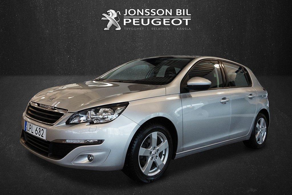 Peugeot 308 1.6 HDi Active 115hk V-hjul