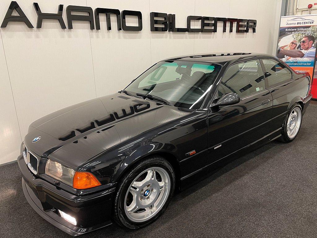 BMW M3 E36 Coupé 286Hk Svensksåld Besiktigad