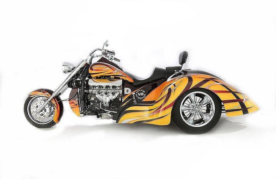 Boss Hoss BHC-9 LS GANGSTA Trike
