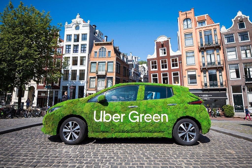 Uber Green lanseras nu i Sverige.