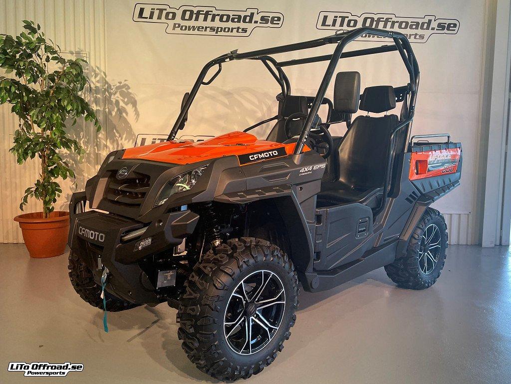 CF Moto U FORCE 800 Orange EPS Traktor B