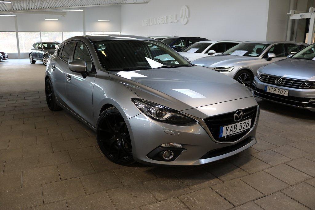 Mazda 3 Sport 2.2 SKYACTIV-D Euro 6 150hk