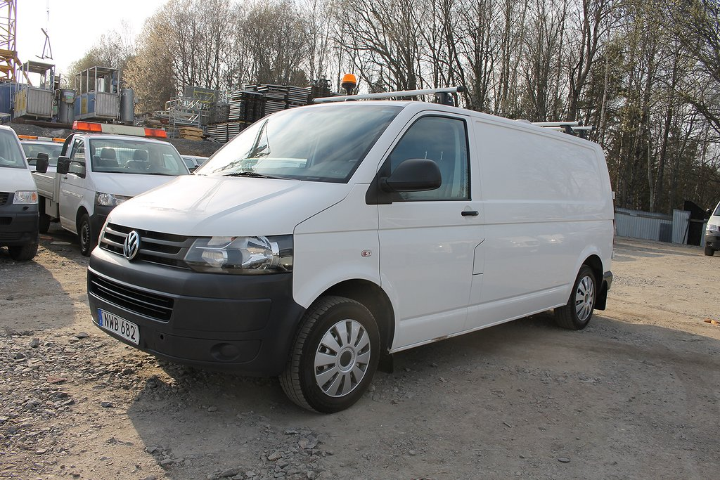 Volkswagen Transporter 2,0TDI 4WD Inredning