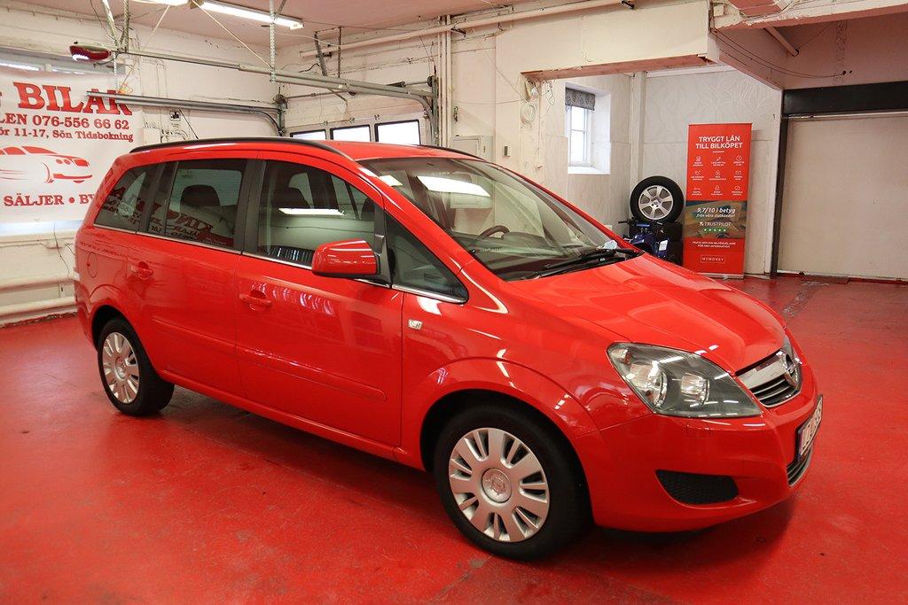 Opel Zafira 1.6 CNG ny Kamrem Turbo 7-sits