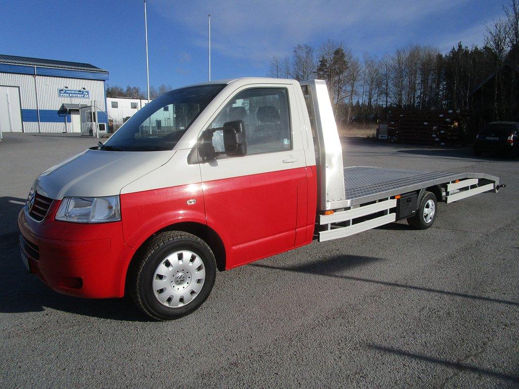 Volkswagen Transporter 1,9 TDI Biltransport / Maskintransport