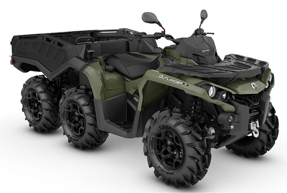 Can-Am Outlander 6X6 650 Pro Sidewall , ELiT MC Göte