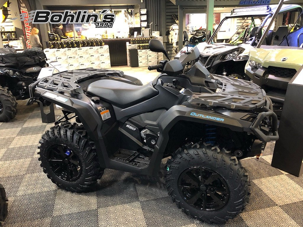 Can-Am Outlander 650 XT T3B ABS -20
