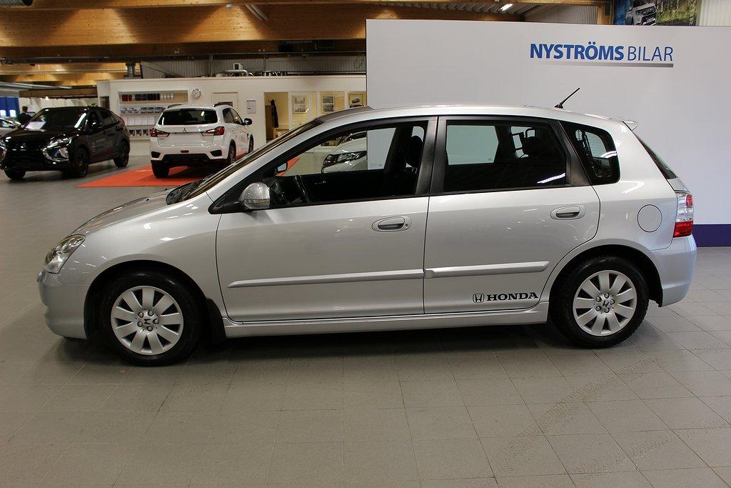 Honda Civic 5-dörrar 1.6 110hk